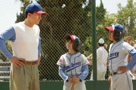 Moises Arias A scene from THE PERFECT GAME featuring (left to right) Cesar (Clifton Collins Jr.), Mario () and Enrique (Jansen Panettiere). Photo credit: Vivian Zink.