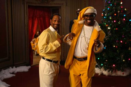 Katt Williams  and Charlie Murphy in The Perfect Holiday, a Yari Film Group Release. ©2007 Yari Film Group Releasing.