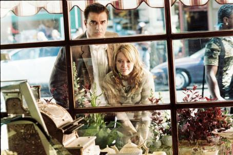 Chris Noth Ben - the perfect man () and Holly Hamilton (Hilary Duff) spy into her mom's bakery shop.