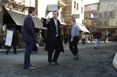 Christopher Nolan  and Christian Bale 2