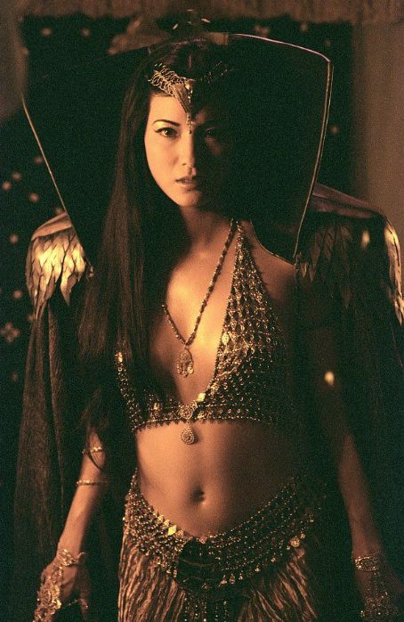 Cassandra Kelly Hu as  in Universal's The Scorpion King - 2002