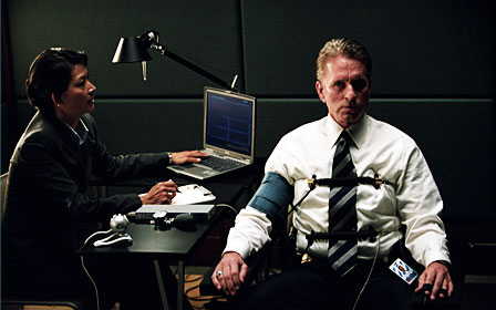 The Sentinel (right) Michael Douglas stars as Agent Pete Garrison in , a 2006 crime movie from 20th Century Fox