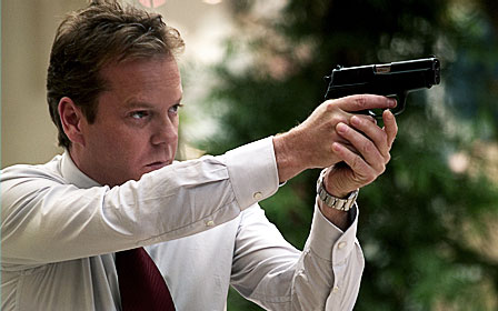 The Sentinel Kiefer Sutherland as David Breckinridge in 20th Century Fox' crime movie  - 2006