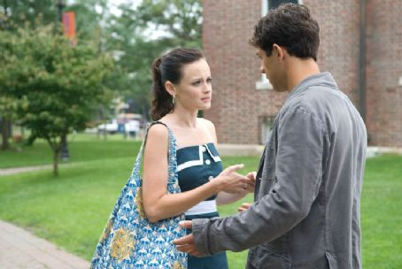 Michael Rady Alexis Bledel as Lena and  as Kostos in Warner Bros. Pictures' The Sisterhood of the Traveling Pants: Part 2