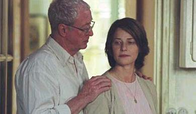 The Statement Michael Caine and Charlotte Rampling in  - 2003
