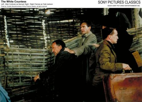 Allan Corduner Left:  as Samuel; Right: Ralph Fiennes as Todd Jackson; Photo by: Tomoko Kikuchi/courtesy of Sony Pictures Classics, all right reserved.