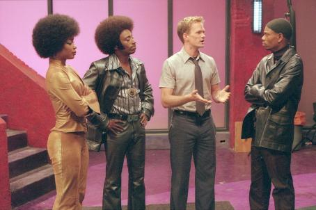 Neil Patrick Harris , Aunjanue Ellis, Eddie Griffin and Dave Chappelle in Universal's Undercover Brother - 2002
