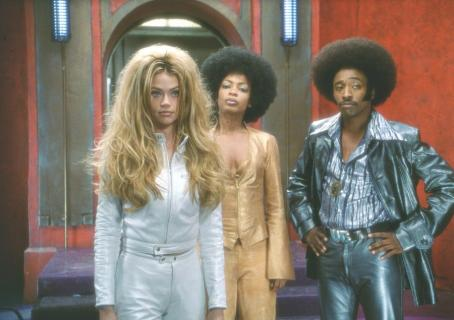 Aunjanue Ellis Denise Richards,  and Eddie Griffin in Universal's Undercover Brother - 2002