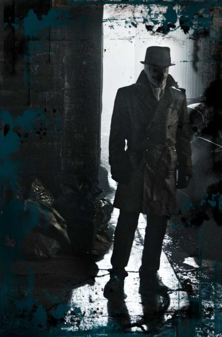 Jackie Earle Haley  star as Walter Kovacs / Rorschach in Warner Bros. Pictures' Watchmen.