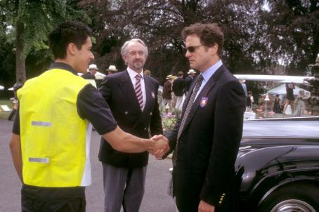 Oliver James , Jonathan Pryce and Colin Firth in Warner Bros. Pictures coming-of-age comedy, 'What A Girl Wants.'