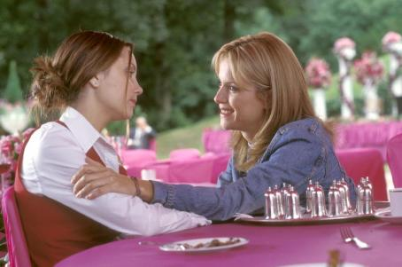 What a Girl Wants Amanda Bynes and Kelly Preston in Warner Bros. Pictures coming-of-age comedy, 'What A Girl Wants.'
