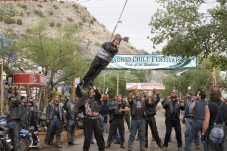 Wild Hogs Dudley (William H. Macy) in adventure comedy ' - 2007'