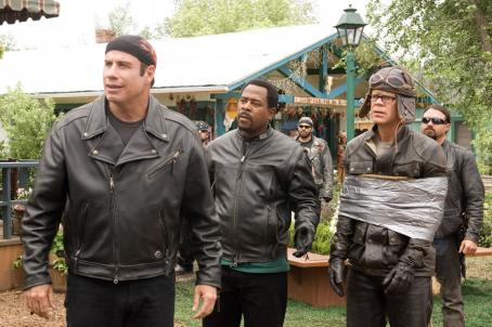 Wild Hogs John Travolta, Martin Lawrence and William H. Macy in  - 2007