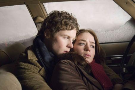 Ashton Holmes  and Emily Blunt in TriStar Pictures' Wind Chill - 2007