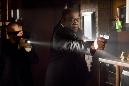 Yaphet Kotto  as Alonzo Moseley in WITLESS PROTECTION. Photo credit: Sam Urdank