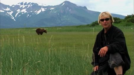 Timothy Treadwell  of GRIZZLY MAN. Photo courtesy of .