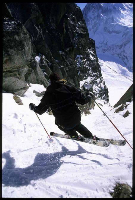 Glen Plake  in Chamonix, France. © 2007 High Ground Productions, LLC courtesy Sony Pictures Classics. All Rights Reserved.