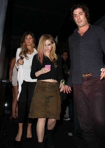 Avril Lavigne and Brandon Davis