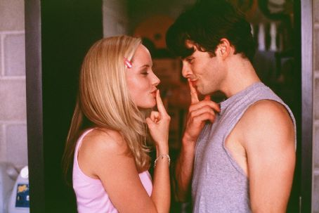 Sugar & Spice James Marsden and Marley Shelton in New Line's Sugar and Spice - 2001
