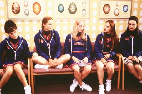 Sugar & Spice Sarah Marsh, Rachel Blanchard, Marley Shelton, Mena Suvari and Melissa George in New Line's Sugar and Spice - 2001