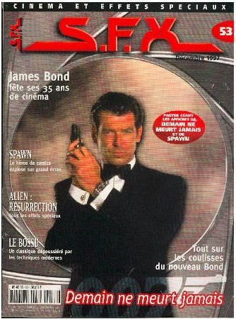 Pierce Brosnan - SFX Magazine [France] (December 1997)