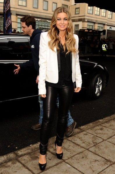 Carmen Electra Arrives at  Britain's Got Talent