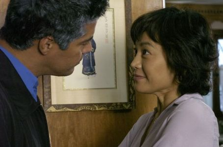 Esai Morales  as Jose and Sylvia Chang as Yvonne in American Fusion.