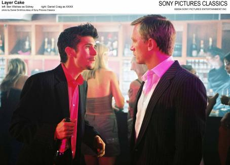 XXXX Left: Ben Wishaw as Sidney; Right: Daniel Craig as .