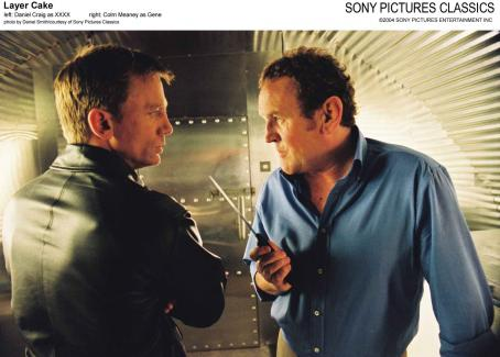 Colm Meaney Left: Daniel Craig as XXXX; Right:  as Gene.