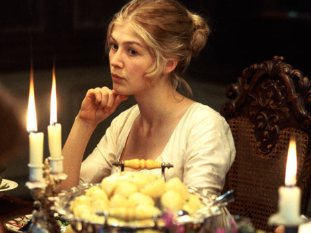 Rosamund Pike as Jane Bennet in Universal Pictures' Pride and Prejudice directed by Joe Wright - 2005