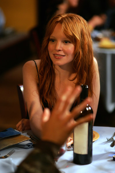 Six Feet Under Lauren Ambrose on the set of HBO' drama and comedy, : Fifth Season - 2005