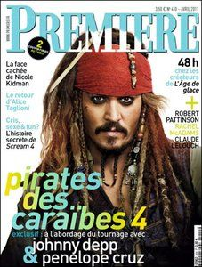 Johnny Depp - Premiere Magazine Cover [France] (April 2011)