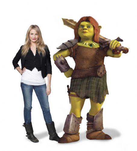 "Princess Fiona CAMERON DIAZ voices  in DreamWorks Animation's ""Shrek Forever After,"" releasing May 21, 2010 and distributed by Paramount Pictures. Photo credit: Michael Murphree. Shrek Forever After ™ & © 2010 DreamWorks Animation LLC. Al"