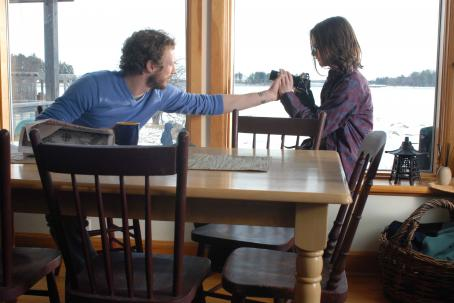Kris Holden-Ried Jack (Kristen Holden-Ried) helps Thomas (Aaron Webber) with camera