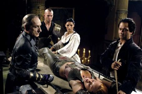 Matthew Davis A scene in Bloodrayne - 2006, starring Kristanna Loken, Ben Kingsley, and