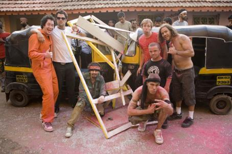 Ryan Dunn Johnny Knoxville, , Jason Acuna, Steve-O and Chris Pontius