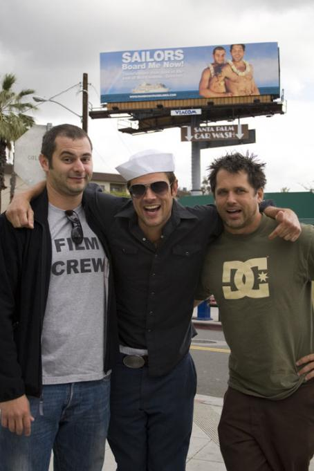 Ryan Dunn Johnny Knoxville (center) and  (right) in Paramount Pictures Jackass: Number Two 2006