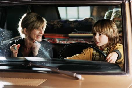 Emily (Kyra Sedgwick) and Paul / Loverboy (Dominic Scott Kay) in ThinkFilms' drama romance, Loverboy - 2006