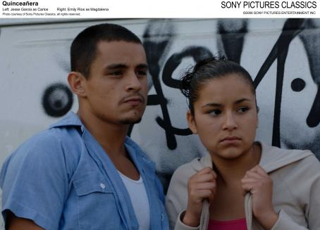 Jesse Garcia Left:  as Carlos; Right: Emily Rios as Magdalena; Photo coustesy of Sony Pictures Classics, all rights reserved.