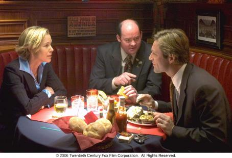 David Koechner Maria Bello,  and Aaron Eckhart in Fox Searchlight Pictures' Thank You for Smoking - 2006