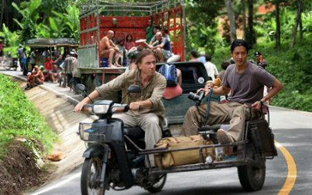 Will Yun Lee Tim Roth as Nick Fraser and  as Chai in Tsunami: The Aftermath.
