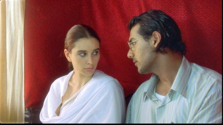 John Abraham Lisa Ray as Kalyani and  as Narayana in Water 2006