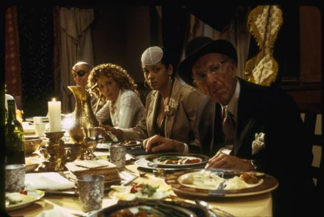 (left to right) Meredith Scott Lynn as Jennifer Stuckman, Cynda Williams as Grace and Jack Klugman as Artur Stuckman in THINKFilms' When Do We Eat