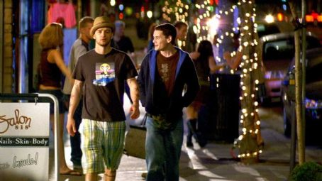 Alpha Dog Justin Timberlake as Frankie with Anton Yelchin as Zack Mazursky in Nick Cassavetes'  - 2007