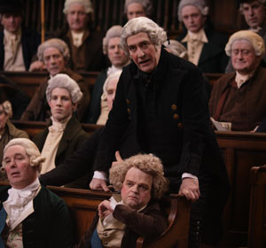 Ciarán Hinds  as Lord Tarleton in parliament in Amazing Grace - 2007