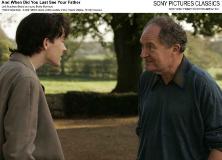 Matthew Beard Left:  as Young Blake Morrison; Right: Jim Broadbent as Arthur Morrison. Photo by Giles Keyte © 2006 Father Features Limited, courtesy of Sony Pictures Classics. All Right Reserved.