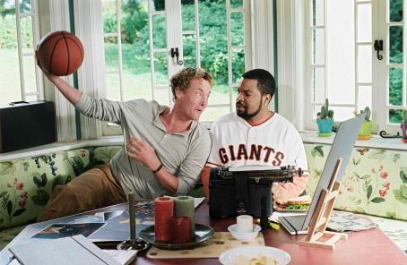 John C. McGinley  (left) and Ice Cube (right) star in Columbia Pictures'/Revolution Studios' Are We Done Yet?. Photo Credit: Rob McEwan. © 2007 Revolution Studios Distribution Company, LLC.  All rights reserved.