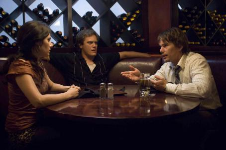 Michael Shannon Aleksa Palladino as Chris,  as Dex and Ethan Hawke as Hank in Before the Devil Knows You're Dead.