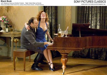 Black Book Left: Waldemar Kobus as Günther Franken. Right: Halina Reijn as Ronnie. Photo by Karl Walter © 2006 Content Film, courtesy of Sony Pictures Classics. All Rights Reserved.