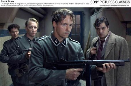 Black Book Left to Right: Michiel de Jong as David, Dirk Zeelenberg as Siem, Thom Hoffman as Hans Akkermans, Matthias Schoenaerts as Joop. Photo by Karl Walter © 2006 Content Film, courtesy of Sony Pictures Classics. All Rights Reserved.